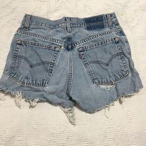LEVI'S 517 Distressed Shorts Jr Size 9